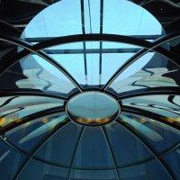 Библиотека.  Голубая сфера... :: Надя Кушнир