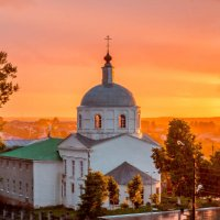 Храм на закате :: Анна Вязникова
