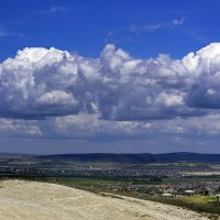 Небо над Анапой. Вид со смотровой. :: Инна Голубицкая