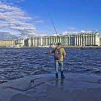Эстетика рыбной ловли по-питерски. :: Senior Веселков Петр