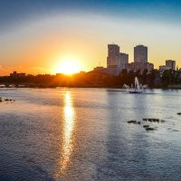 закатное золото :: Натали Акшинцева