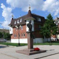 Памятник Кузнецову  Н.Д. :: Александр Алексеев