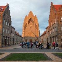 Церковь Грундтвига в Копенгагене :: Odissey