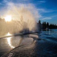 Фонтан на реке Цне............. :: Александр Селезнев