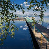 На озере :: Алексей