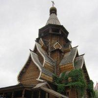 Шедевр деревянного зодчества :: Дмитрий Никитин