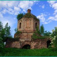 Церковь Вознесения Христова в д. Понизовье Торопецкого района :: Николай Дони