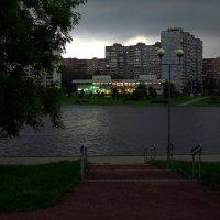 Догадайтесь с трех попыток, попал ли я под дождь? :: Андрей Лукьянов