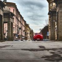 Красный автомобиль :: Константин Бобинский