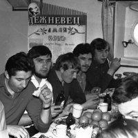"""Атлантический океан.БМРТ 388 """"Семён Дежнёв"""" 1971-й год. :: Иволий Щёголев"""