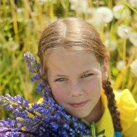 солнечное детство :: Алёна Горбылёва