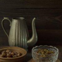 Чёрный чай с фруктами :: Валерий Хинаки