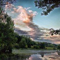 облака и река :: юрий иванов