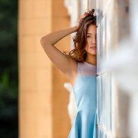 Жика. Голубое платье. :: Валерий Чернышов