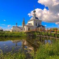 Суздаль. Богоявленская церковь. :: Александр Теленков
