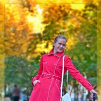 lady in red :: Дмитрий Боргер