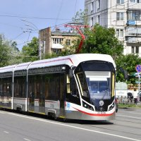Трамвай 71-931М «Витязь-М» :: Денис Змеев