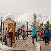 Снежные вершины :: Валерий Ткаченко