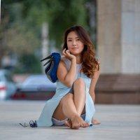 """из альбома """"голубое платье"""". Жика. :: Валерий Чернышов"""