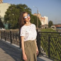 Лето  в городе :: Кристина Демина