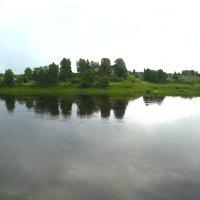 Сухона июль 2017 невиданно большая вода :: Р о м a н