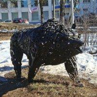 Железный медведь :: Лидия (naum.lidiya)