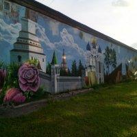 Граффити в Подмосковном городе Дзержинский :: Ольга Кривых