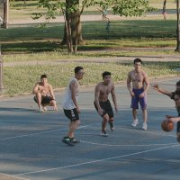 Баскетбол в парке. Ч. 3 :: Олег Чемоданов