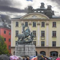 Памятник св. Георгию Победоносцу... :: Cергей Павлович