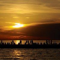 Закат на Адриатике. :: Ирина ...............