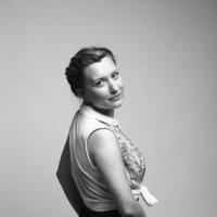 Черно-белое фото девушки :: Алиса Павлова