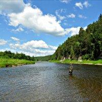 На реке Чусовая :: Leonid Rutov