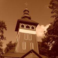 Греко - католический   деревянный   храм   в   Ивано - Франковске :: Андрей  Васильевич Коляскин