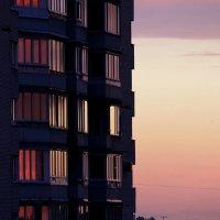 закат в окнах :: navalon M