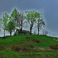 Дом на холме :: Дубовцев Евгений
