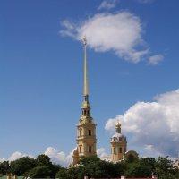 Крыши Петропавловки :: Николай Танаев