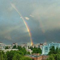 Вечерняя радуга :: Виталий