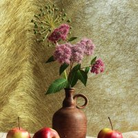 Три яблока на золотом фоне ) :: Ирина Сивовол