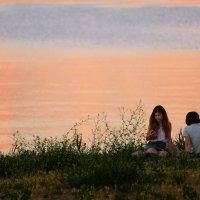 Летний вечер на море :: Анатолий Шулков