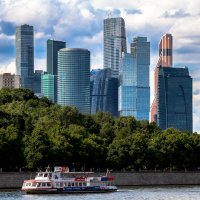 Москва-сити :: Михаил Гаврилов