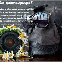 С Днем фотографа! :: Татьяна Панчешная