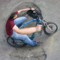 велосипедист :: Альберт Аверков