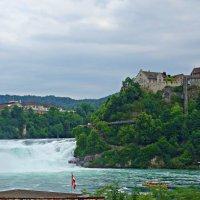 Рейнский водопад (Швейцария).... :: Galina Dzubina