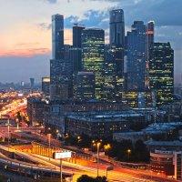 Москва-сити :: Анна Аринова