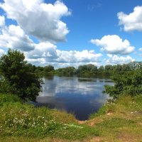 На реке Клязьма :: Зоя Мишина