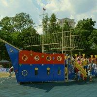 Детская игровая площадка. :: владимир ковалев