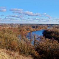Вид с холма на Андреевский луг :: Дубовцев Евгений