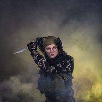 Рука бойцов колоть устала... :: Shmual Hava Retro