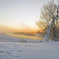 Зимнее русло Десны :: Дубовцев Евгений