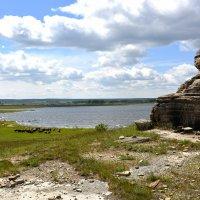 Каменный Истукан охраняет Овец... :: Дмитрий Петренко